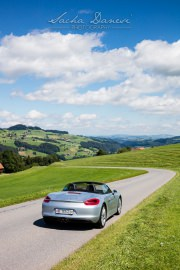 Grand Tour of Switzerland, Porsche Boxster im Entlebuch 1