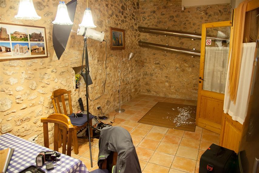 Unser zweckmässig umgebautes Wohnzimmer ;)