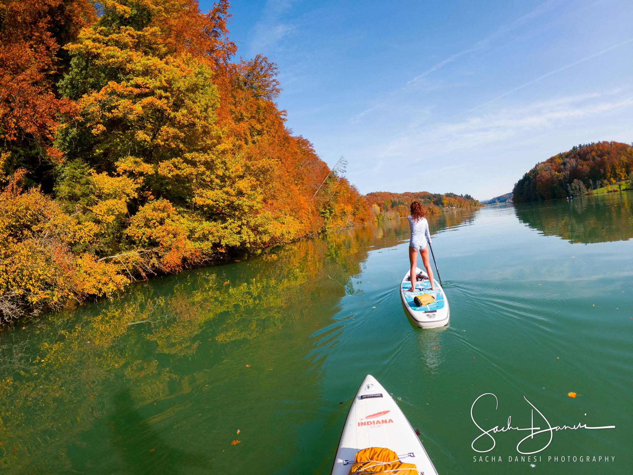 Herbst-SUP Wohlensee